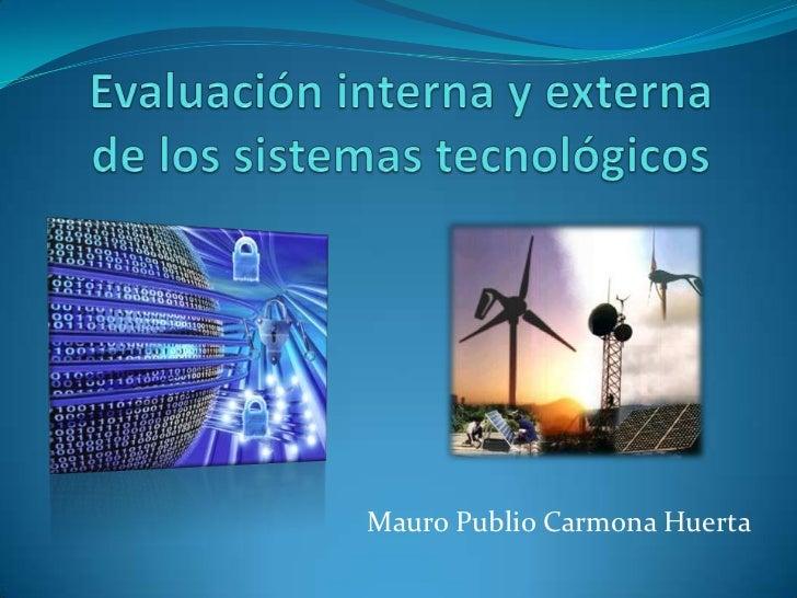 Mauro Publio Carmona Huerta