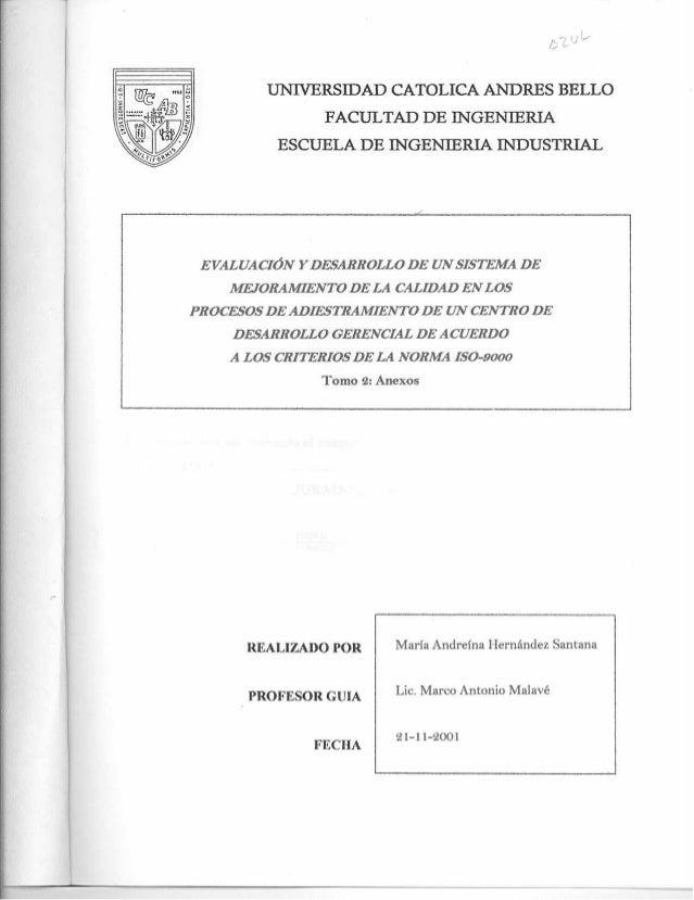 Evaluación y desarrollo de un sistema de adiestramiento norma iso 9000  tesis-tomo 2