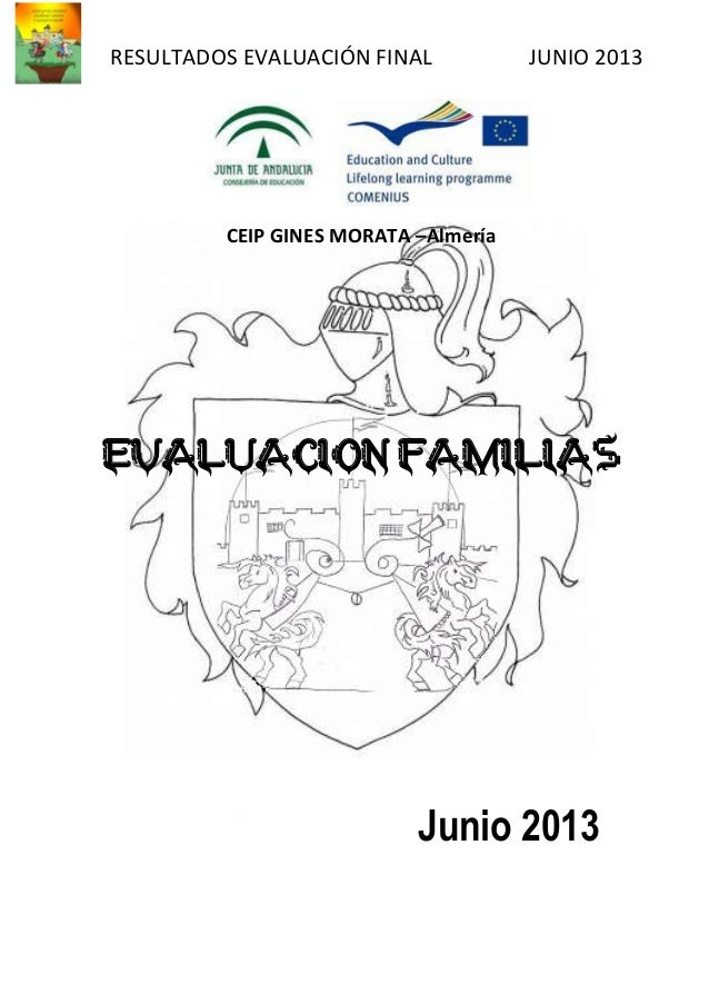 Evaluacion familias