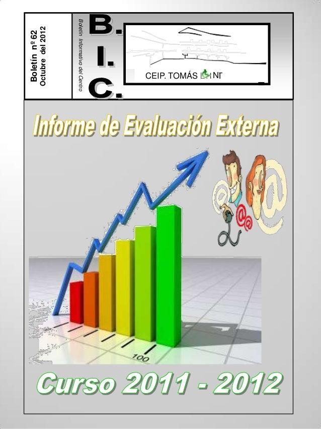 Evaluación 2012
