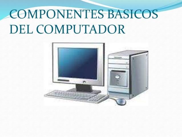 Evaluacion Componentes Basicos Del Computador