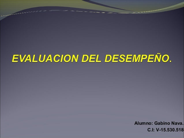 Alumno: Gabino Nava. C.I: V-15.530.518