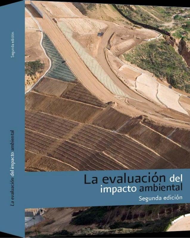 La evaluación del impacto ambiental
