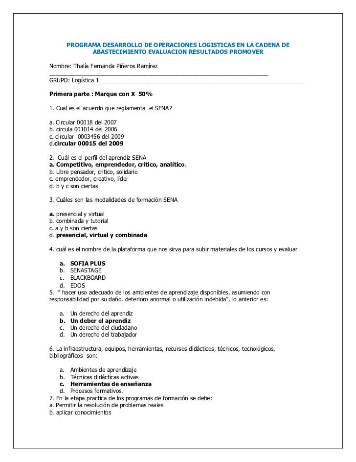 PROGRAMA DESARROLLO DE OPERACIONES LOGISTICAS EN LA CADENA DE               ABASTECIMIENTO EVALUACION RESULTADOS PROMOVERN...