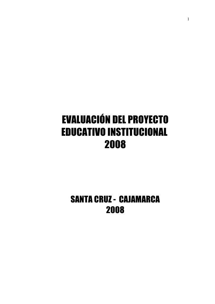 Evaluacion pei