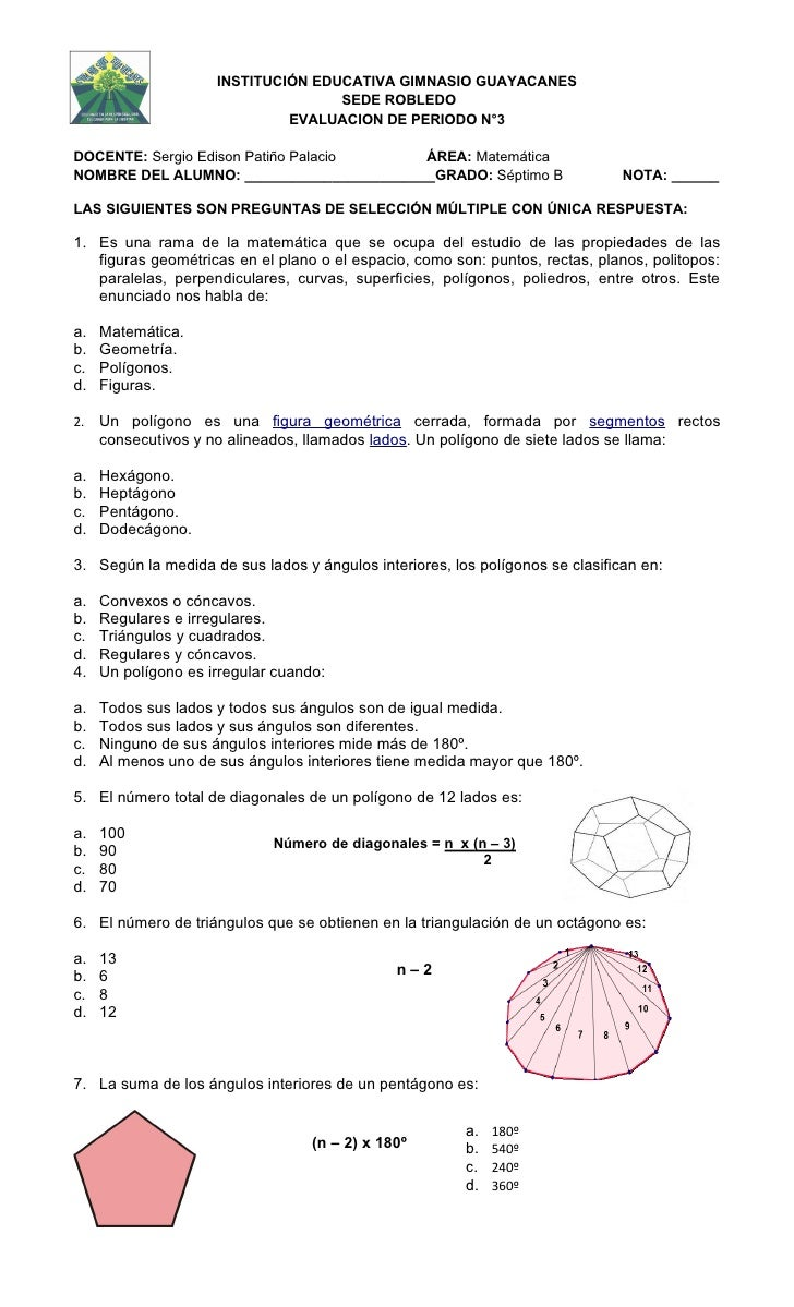 INSTITUCIÓN EDUCATIVA GIMNASIO GUAYACANES                                    SEDE ROBLEDO                              EVA...