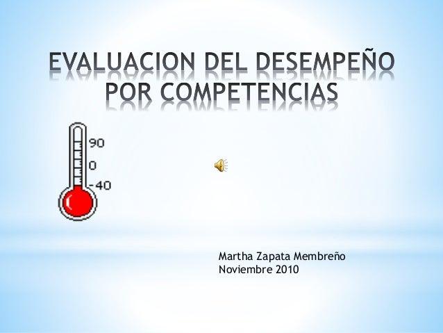 Martha Zapata Membreño Noviembre 2010