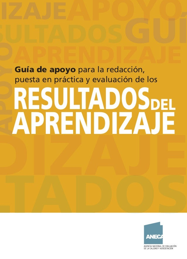 Guía de apoyo para la redacción, puesta en práctica y evaluación de los CUB_ANECA_Ok.indd 1CUB_ANECA_Ok.indd 1 15/11/13 13...