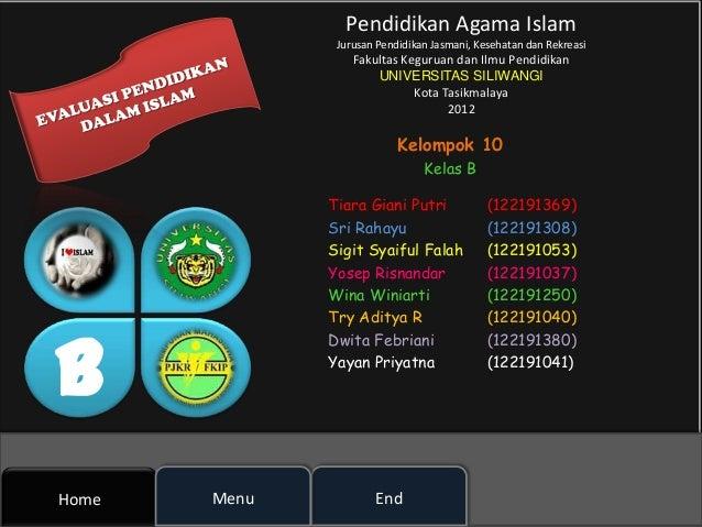 Pendidikan Agama Islam               Jurusan Pendidikan Jasmani, Kesehatan dan Rekreasi                  Fakultas Keguruan...