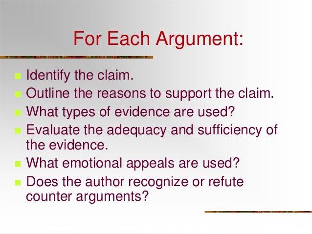 Sample Argument Essays - Mesa Community College