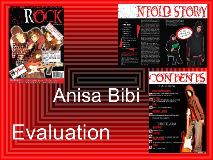 Evaluation Anisa Bibi