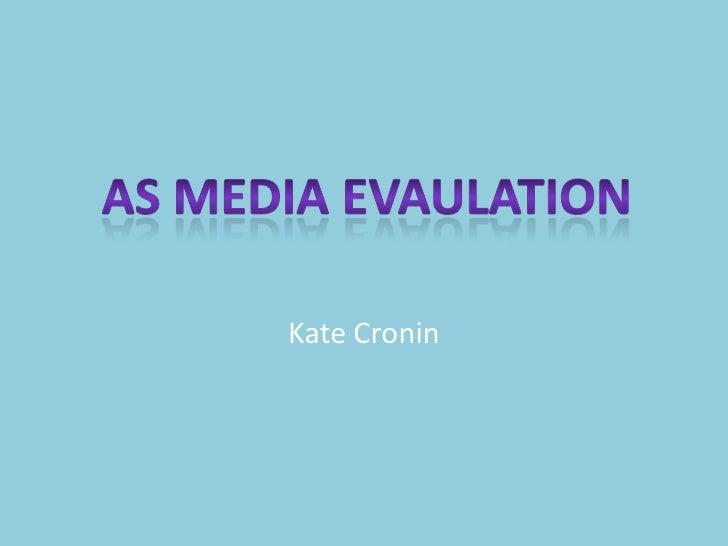 AS Media Music Magazine Evaluation