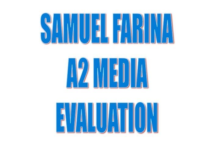 Introduction   My name is Samuel Farina and for my A2 coursework I have done a short film called Heaven Call my two ancill...