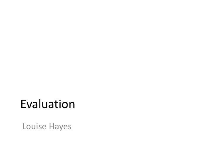 Evaluation  -powerpoint_presentation[1]