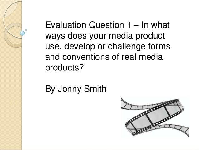 Evaluation 1 slide share