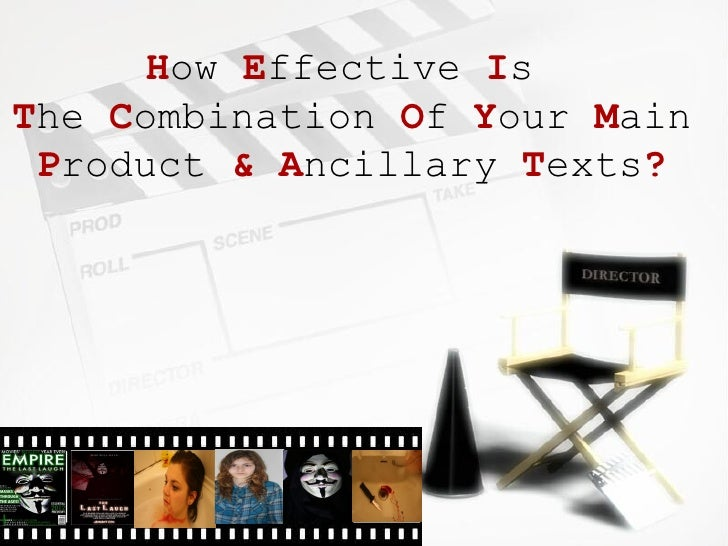 How Effective IsThe Combination Of Your Main Product & Ancillary Texts?