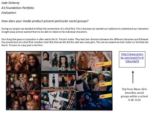 Jade DelaneyAS Foundation PortfolioEvaluationHow does your media product present particular social groups?During our proje...