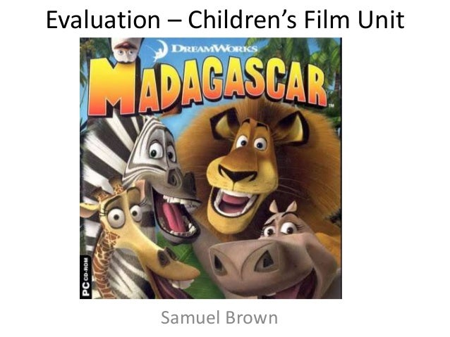 Evaluation – Children's Film Unit Samuel Brown
