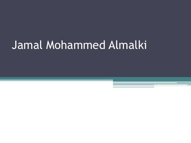 Jamal Mohammed Almalki