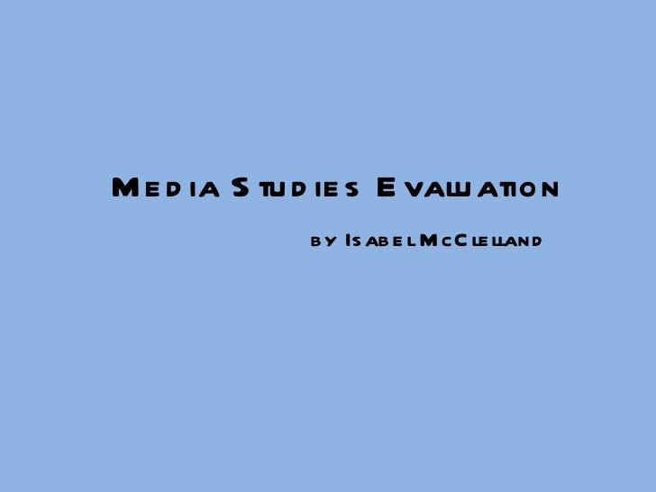 Evaluation powerpoint