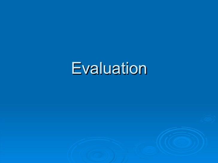 Evaluation media a2 2