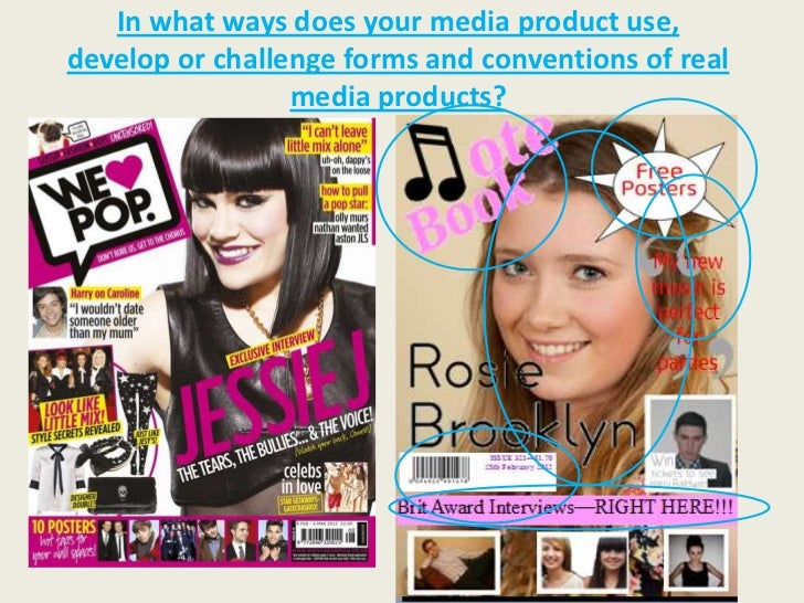 In what ways does your media product use,develop or challenge forms and conventions of real                 media products?