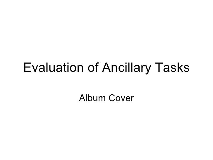 Evaluation of Ancillary Tasks Album Cover