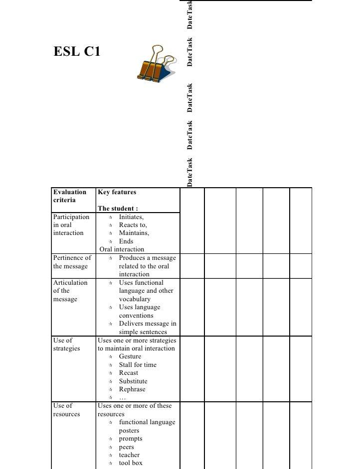 Evaluation Of Competencies