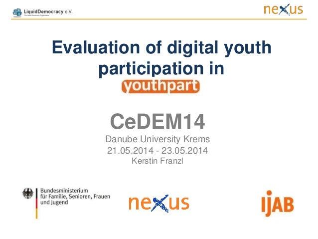 Evaluation of digital youth participation v.3