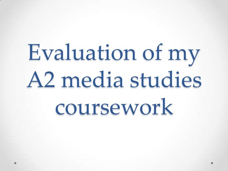 Evaluation of my a2 media studies coursework