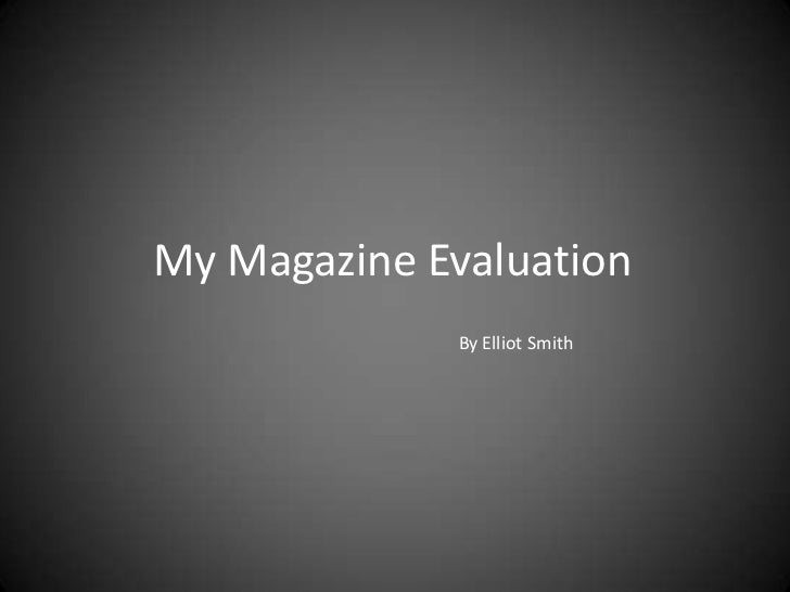 evaluation of coursework