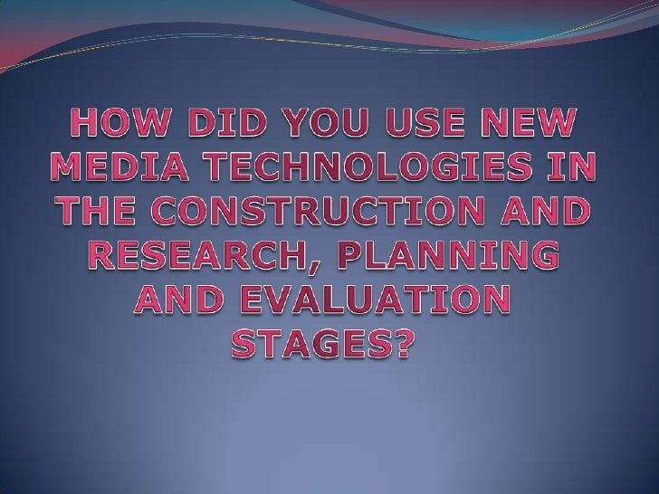 I used variety of different softwares through out the researchstage such as....                                  This was ...