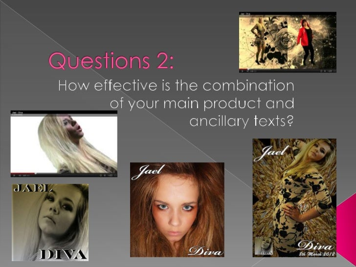 Evaluation question 2 - becky
