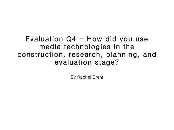Evaluation q4