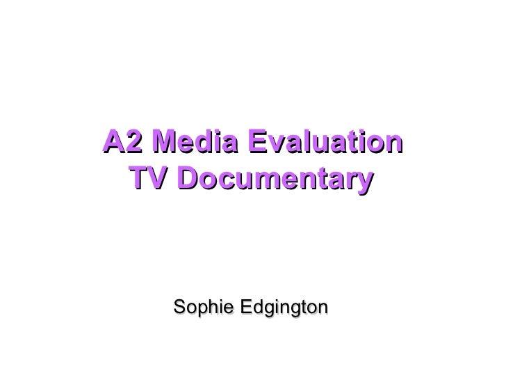 Evaluation slides. (3)