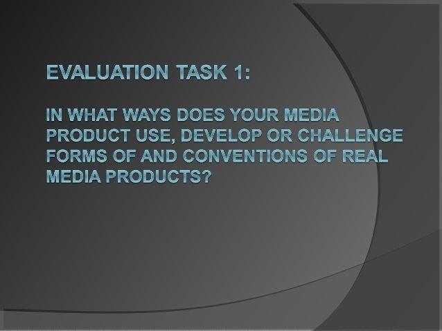 Evaluation t 1