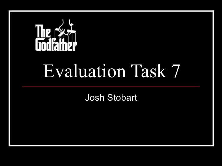 Evaluation task 7pp
