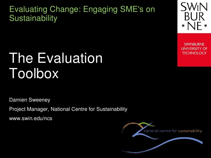 Evaluation toobox