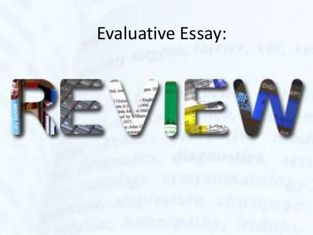 Evaluative essay.movie