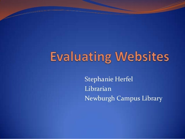 Stephanie Herfel Librarian Newburgh Campus Library