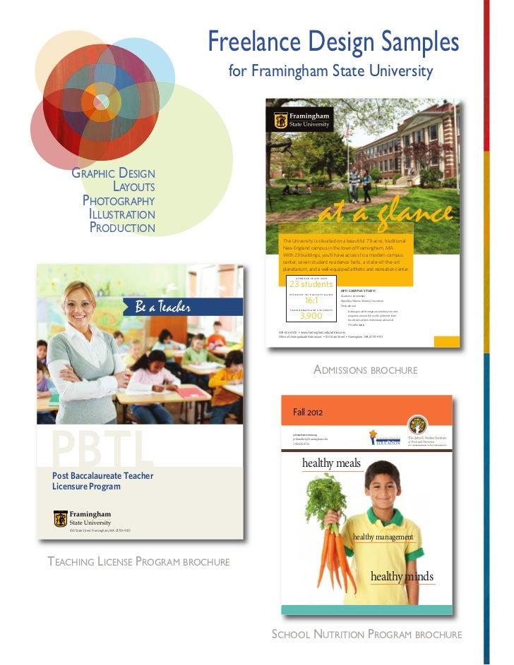 Graphic Design Portfolio Examples For University University Graphic Design