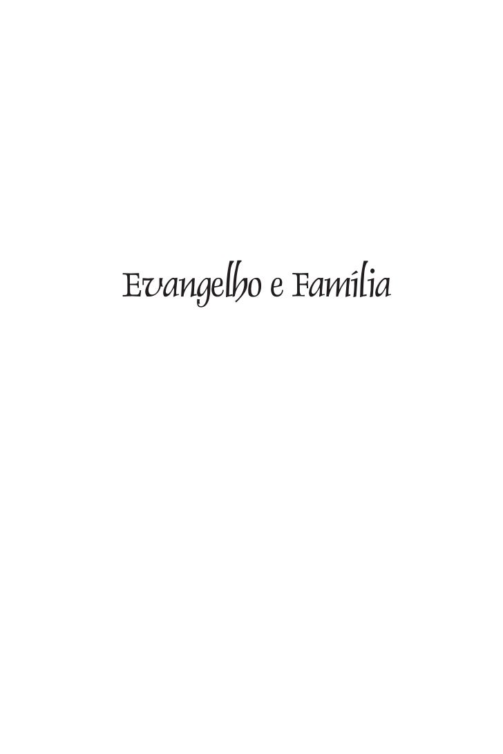 Evangelho e Família