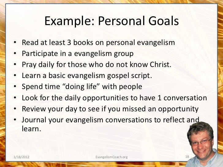 Evangelism Strategy For 2012