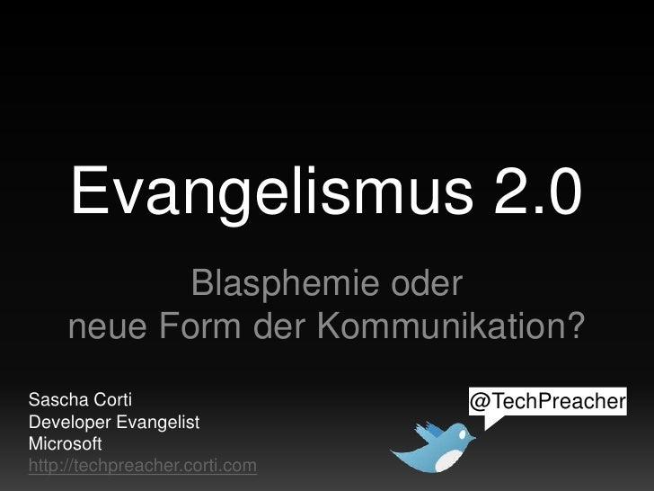 Evangelismus 2.0