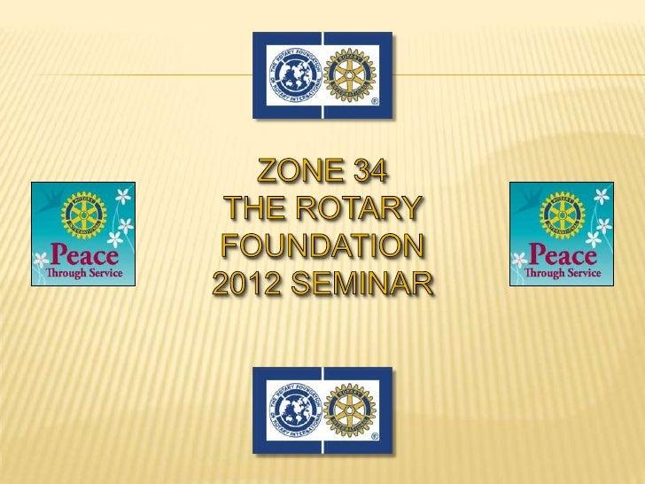 Foundation Seminar