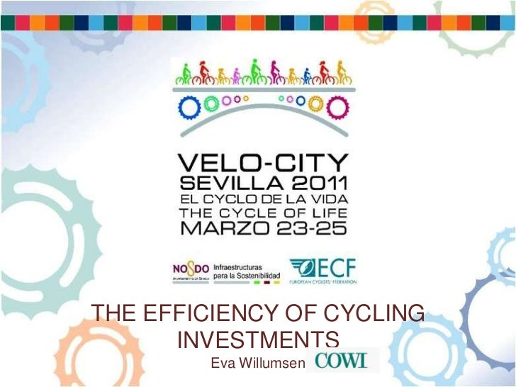 The efficiency of cycling investments