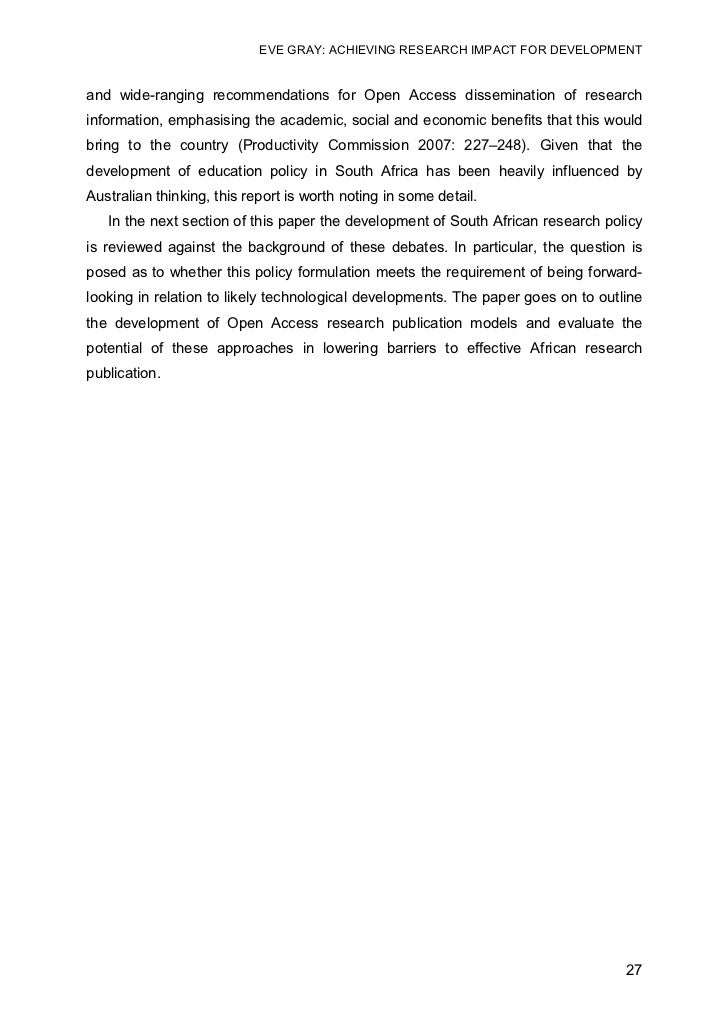 dissemination paper research Chapter 16 fundamentals of disseminating research  that relate to the methods of disseminating research or presenting a research proposal  paper remember that.