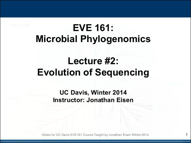 EVE161 Lecture 2