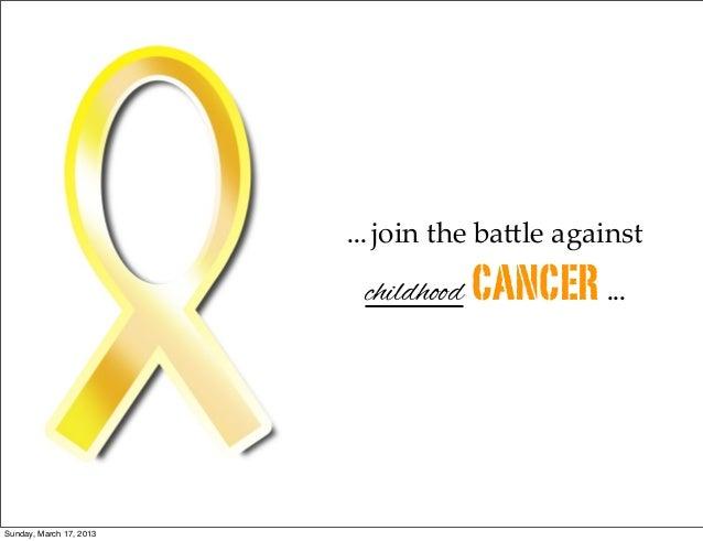 Battling Childhood Cancer