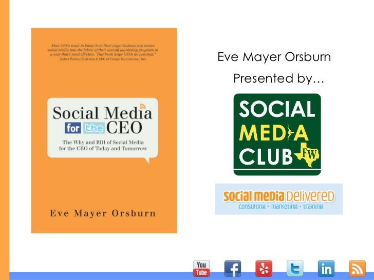 Presented by… Eve Mayer Orsburn